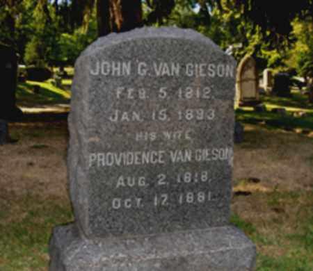 VAN GIESON, JOHN G. - Essex County, New Jersey   JOHN G. VAN GIESON - New Jersey Gravestone Photos