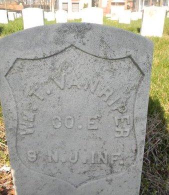 VAN RIPER, WILLIAM THOMAS - Essex County, New Jersey | WILLIAM THOMAS VAN RIPER - New Jersey Gravestone Photos