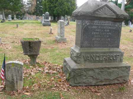VANDERHOOF, GEORGE H. - Essex County, New Jersey   GEORGE H. VANDERHOOF - New Jersey Gravestone Photos
