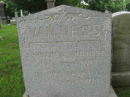 VANNESS, EPHRAIM - Essex County, New Jersey   EPHRAIM VANNESS - New Jersey Gravestone Photos
