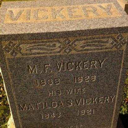 VICKERY, MATHIAS F. - Essex County, New Jersey   MATHIAS F. VICKERY - New Jersey Gravestone Photos
