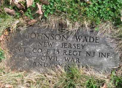 WADE, JOHNSON - Essex County, New Jersey | JOHNSON WADE - New Jersey Gravestone Photos