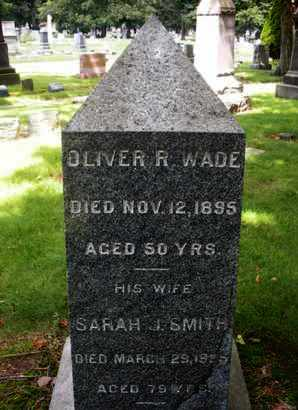 WADE, OLIVER R. - Essex County, New Jersey | OLIVER R. WADE - New Jersey Gravestone Photos