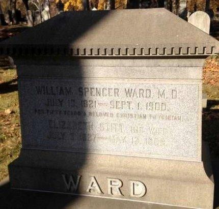 WARD, WILLIAM SPENCER - Essex County, New Jersey   WILLIAM SPENCER WARD - New Jersey Gravestone Photos