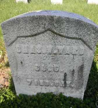 WARD, CHARLES W. - Essex County, New Jersey   CHARLES W. WARD - New Jersey Gravestone Photos