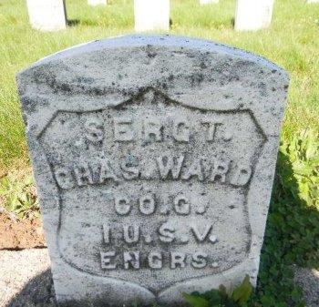 WARD, CHARLES - Essex County, New Jersey | CHARLES WARD - New Jersey Gravestone Photos