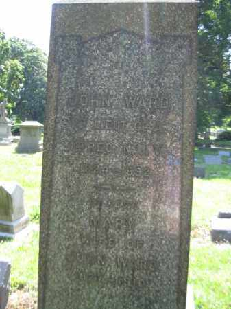 WARD, JOHN - Essex County, New Jersey   JOHN WARD - New Jersey Gravestone Photos