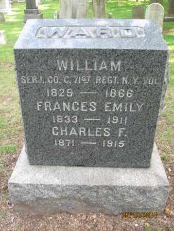 WARD, WILLIAM - Essex County, New Jersey | WILLIAM WARD - New Jersey Gravestone Photos