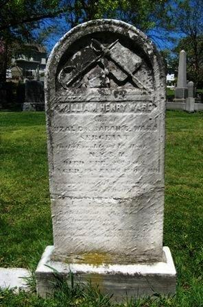 WARD, WILLIAM HENRY - Essex County, New Jersey | WILLIAM HENRY WARD - New Jersey Gravestone Photos