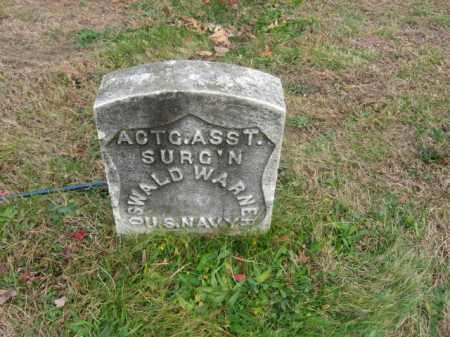 WARNER, OSWALD - Essex County, New Jersey | OSWALD WARNER - New Jersey Gravestone Photos