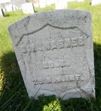 WARNER, SAMUEL A. - Essex County, New Jersey | SAMUEL A. WARNER - New Jersey Gravestone Photos