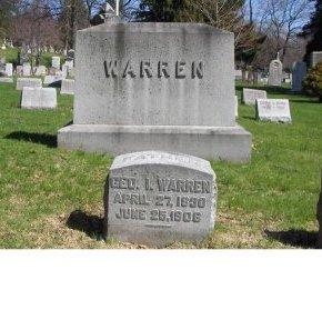 WARREN, GEORGE I. - Essex County, New Jersey   GEORGE I. WARREN - New Jersey Gravestone Photos