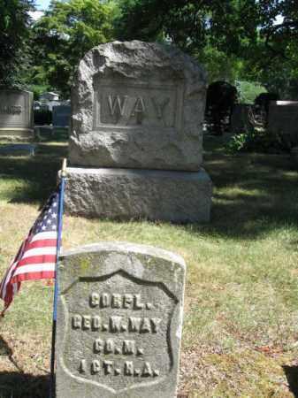 WAY, GEORGE W. - Essex County, New Jersey | GEORGE W. WAY - New Jersey Gravestone Photos