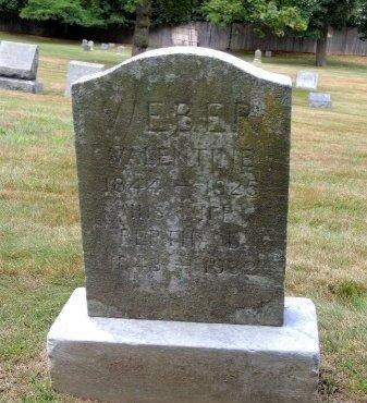 WEBER, VALENTINE - Essex County, New Jersey   VALENTINE WEBER - New Jersey Gravestone Photos