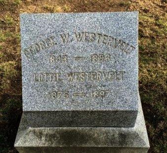 WESTERVELT, GEORGE W. - Essex County, New Jersey   GEORGE W. WESTERVELT - New Jersey Gravestone Photos
