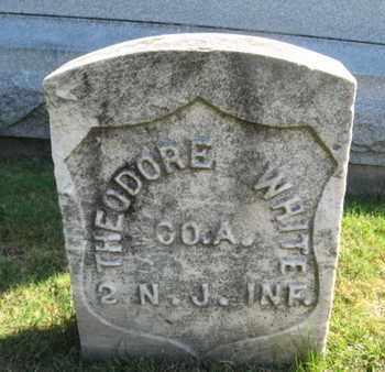 WHITE, THEODORE - Essex County, New Jersey   THEODORE WHITE - New Jersey Gravestone Photos