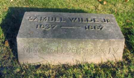 WILDE,JR., SAMUEL - Essex County, New Jersey   SAMUEL WILDE,JR. - New Jersey Gravestone Photos