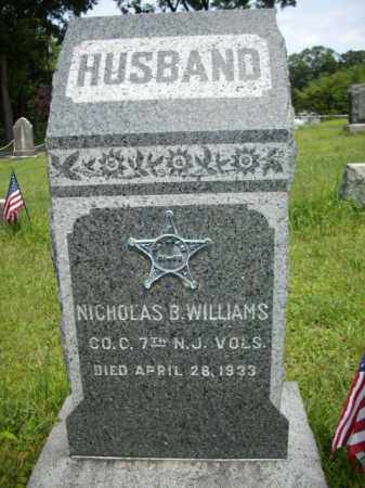 WILLIAMS, CORP.NICHOLAS BUSH - Essex County, New Jersey | CORP.NICHOLAS BUSH WILLIAMS - New Jersey Gravestone Photos