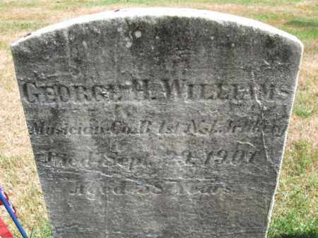 WILLIAMS, GEORGE H. - Essex County, New Jersey | GEORGE H. WILLIAMS - New Jersey Gravestone Photos