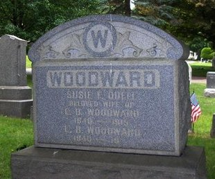 WOODWARD, EDWIN B. - Essex County, New Jersey | EDWIN B. WOODWARD - New Jersey Gravestone Photos