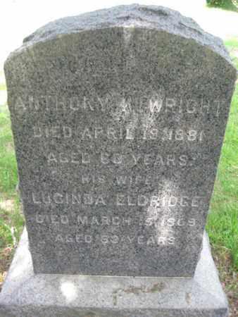 WRIGHT, ANTHONY K. - Essex County, New Jersey | ANTHONY K. WRIGHT - New Jersey Gravestone Photos
