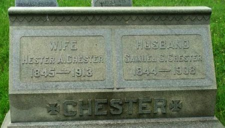 CHESTER, SAMUEL C. - Gloucester County, New Jersey | SAMUEL C. CHESTER - New Jersey Gravestone Photos