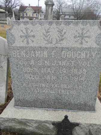 DOUGHTY, BENJAMIN F. - Gloucester County, New Jersey | BENJAMIN F. DOUGHTY - New Jersey Gravestone Photos