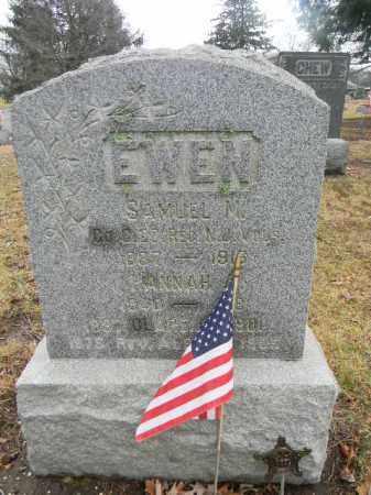 EWEN, SAMUEL M. - Gloucester County, New Jersey | SAMUEL M. EWEN - New Jersey Gravestone Photos