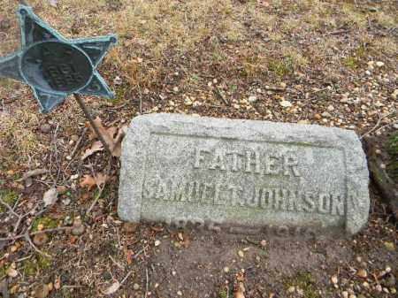 JOHNSON, SAMUEL T. - Gloucester County, New Jersey | SAMUEL T. JOHNSON - New Jersey Gravestone Photos