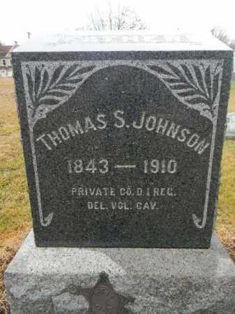 JOHNSON, THOMAS S. - Gloucester County, New Jersey   THOMAS S. JOHNSON - New Jersey Gravestone Photos