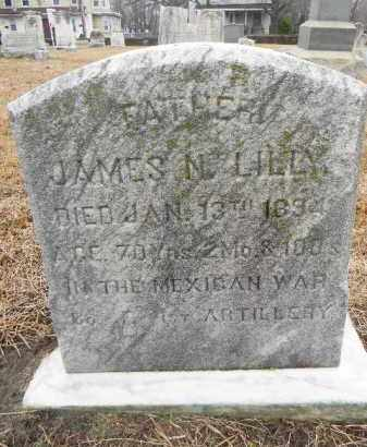 LILLY, JAMES N. - Gloucester County, New Jersey | JAMES N. LILLY - New Jersey Gravestone Photos
