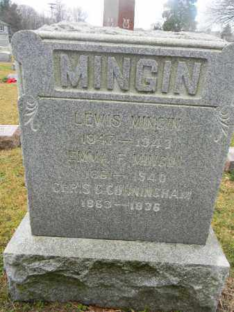 MINGIN, LEWIS - Gloucester County, New Jersey | LEWIS MINGIN - New Jersey Gravestone Photos