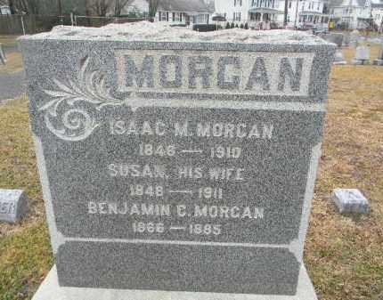 MORGAN, ISAAC M. - Gloucester County, New Jersey | ISAAC M. MORGAN - New Jersey Gravestone Photos