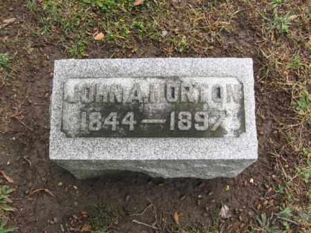MORTON, JOHN A. - Gloucester County, New Jersey | JOHN A. MORTON - New Jersey Gravestone Photos