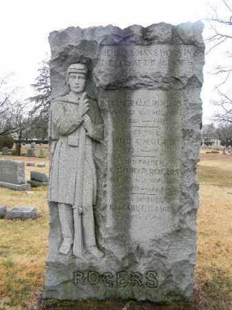 ROGERS, ELMER Q.C. - Gloucester County, New Jersey   ELMER Q.C. ROGERS - New Jersey Gravestone Photos