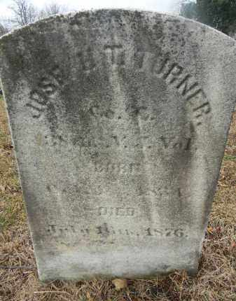 TURNER, JOSEPH T. - Gloucester County, New Jersey | JOSEPH T. TURNER - New Jersey Gravestone Photos