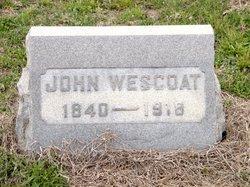 WESCOAT (WESTCOAT), JOHN - Gloucester County, New Jersey | JOHN WESCOAT (WESTCOAT) - New Jersey Gravestone Photos