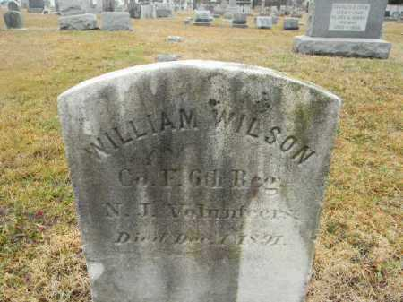 WILSON, WILLIAM - Gloucester County, New Jersey   WILLIAM WILSON - New Jersey Gravestone Photos