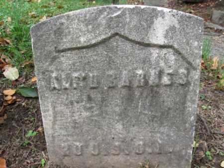 BARNES, ALFRED - Hudson County, New Jersey | ALFRED BARNES - New Jersey Gravestone Photos