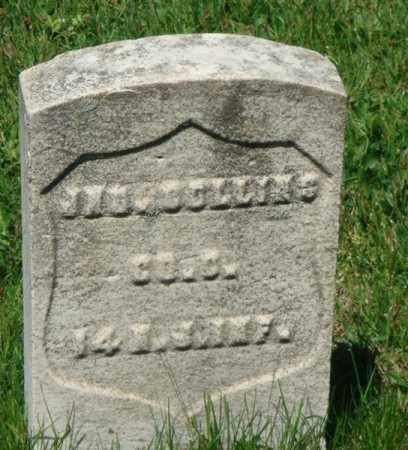 COLLINS, JOHN - Hudson County, New Jersey | JOHN COLLINS - New Jersey Gravestone Photos