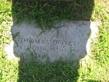 DOYLE, THOMAS - Hudson County, New Jersey   THOMAS DOYLE - New Jersey Gravestone Photos