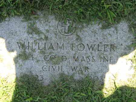 FOWLER, WILLIAM H. - Hudson County, New Jersey | WILLIAM H. FOWLER - New Jersey Gravestone Photos