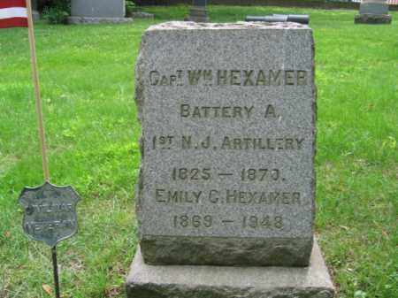 HEXAMER, CAPT. WILLIAM - Hudson County, New Jersey   CAPT. WILLIAM HEXAMER - New Jersey Gravestone Photos