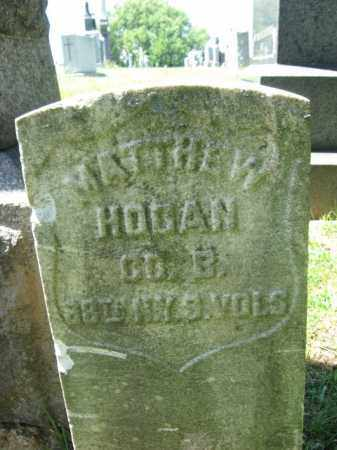 HOGAN, MATTHEW W. - Hudson County, New Jersey | MATTHEW W. HOGAN - New Jersey Gravestone Photos