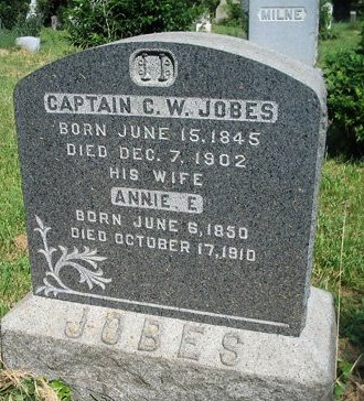 JOBES, CHARLES W. - Hudson County, New Jersey | CHARLES W. JOBES - New Jersey Gravestone Photos