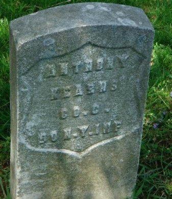 KEARNS, ANTHONY - Hudson County, New Jersey | ANTHONY KEARNS - New Jersey Gravestone Photos