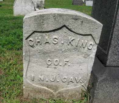 KING, CHARLES - Hudson County, New Jersey | CHARLES KING - New Jersey Gravestone Photos
