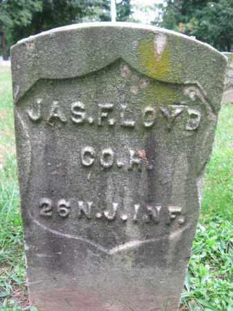 LOYD, JAMES F. - Hudson County, New Jersey   JAMES F. LOYD - New Jersey Gravestone Photos