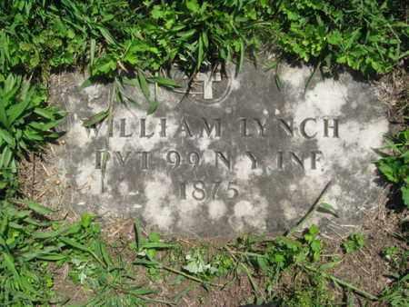 LYNCH, WILLIAM - Hudson County, New Jersey   WILLIAM LYNCH - New Jersey Gravestone Photos