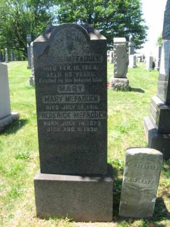 MCFADDEN, FERGUS - Hudson County, New Jersey | FERGUS MCFADDEN - New Jersey Gravestone Photos